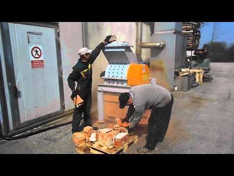 mulino a martelli per inerti alluminio plastica legno miller