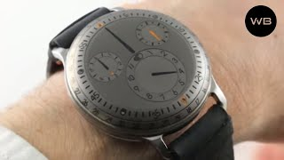 Ressence Type 3 Titanium (OIL FILLED) TYPE 3TI Luxury Watch Review