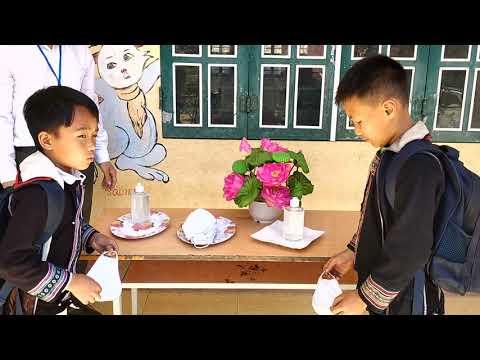 Học sinh trường PTDTBT Tiểu học Tả Giàng Phìn cần chú ý những điểm sau khi đến trường !