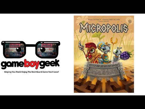 The Game Boy Geek Reviews Micropolis