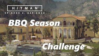 Hitman - Sapienza/World of Tomorrow - BBQ Season Challenge (XBox/PC/PS4)