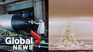 Rosja publikuje wcześniej tajne nagranie z 1961 roku przedstawiające największą w historii eksplozję nuklearną