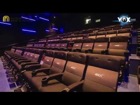 Take a tour of VOX Cinemas at Yas Mall!