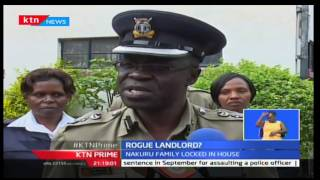 KTN Prime: Two girls rescued today after being locked in by the landlord after a month in Shabab