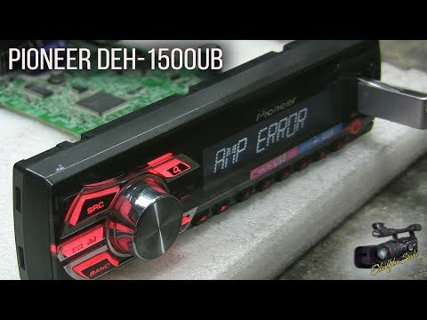 Pioneer DEH-1500UB (ремонт)