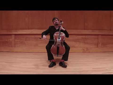 Bach Solo Violin Sonata in a minor arr. for celllo