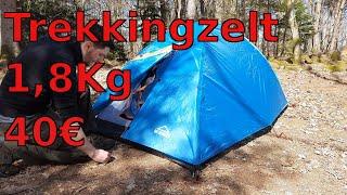 Super günstiges Zelt für Trekking: Das McKinley Vega 10.2