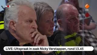 TERUGKIJKEN: Uitspraak in zaak Nicky Verstappen, 12,5 jaar cel voor Jos. B
