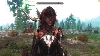 Skyrim - Броня кровавой Валькирии