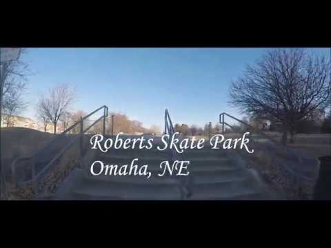A Day At Roberts Skate Park Omaha, NE!