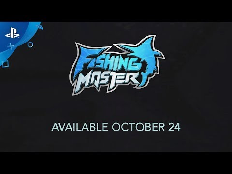 Fishing Master - Announce Trailer | PS VR thumbnail