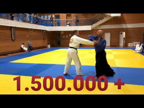 Unbelievable REAL AIKIDO MASTER !🥋🇷🇸