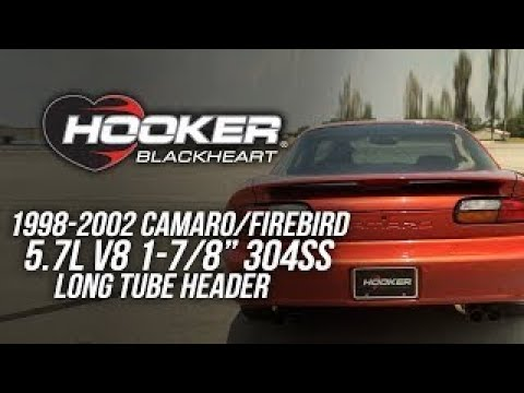 1993-2002 Camaro/Firebird (LS Equipped) - Hooker Blackheart Long Tube Headers 70101341-RHKR