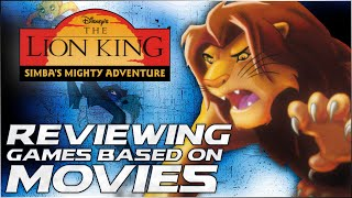 WHY IS THIS SO HARD? - The Lion King: Simba's Mighty Adventure (PS1) | Games Based on Movies