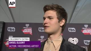 Ansel Elgort, The Chainsmokers pick their rainy day music