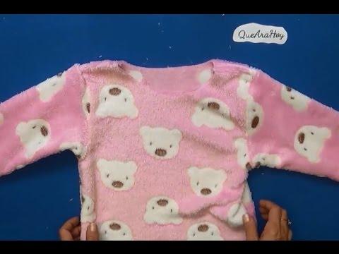 Pijama para niñas y niños como hacer DIY   clase #55