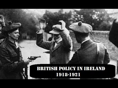British Policy in Ireland 1918-1921 (2019), a breakdown of British policy during the Irish Revolutionary period