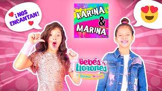 El Mega UNBOXING 📦 De Karina Y Marina De BEBÉS LLORONES 💦 LÁGRIMAS MÁGICAS 💕