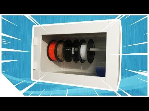 Filament Aufbewahrung | Trockener und langlebiger | 3D Drucker Schrank Serie 03