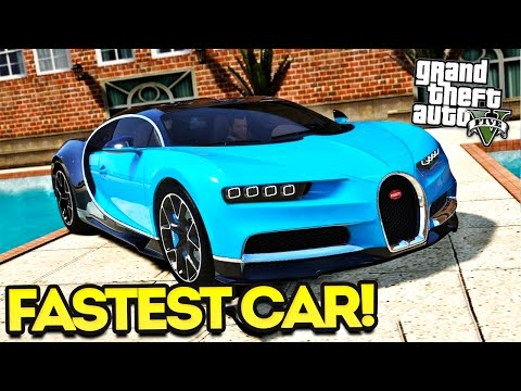 bugatti chiron mod available in gta 5 with tuning, drag races the