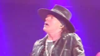 AC/DC feat Axl Rose - You Shook Me All Night Long  Sep 2 2016 Atlanta