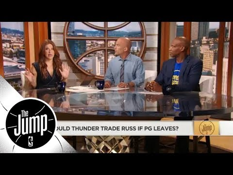 If Paul George leaves Thunder, would they trade Russell Westbrook? | The Jump | ESPN
