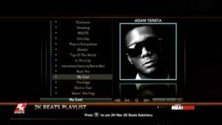 NBA 2K10 - Adam Tensta My Cool - Music