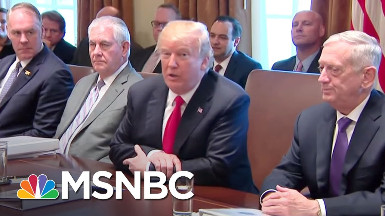 President Donald Trump Now Says It's 'Unlikely' He'll Meet With Mueller | The 11th Hour | MSNBC thumbnail