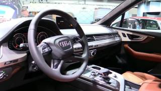 2018 Audi Q7 TDI Quattro Special First Impression Lookaround Review in 4K Edition