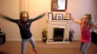 charleigh and Sian dancing (the cheeky girls)