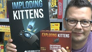 Imploding Kittens - 1. Erweiterung zu Exploding Kittens (asmodee) - ab 7 Jahre!