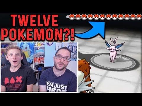 12 POKEMON, ONE BATTLE?! | Pokemon X & Y Randomizer Egglocke Co-Op | Part 24