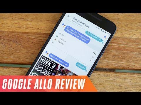 Google Allo tutorial