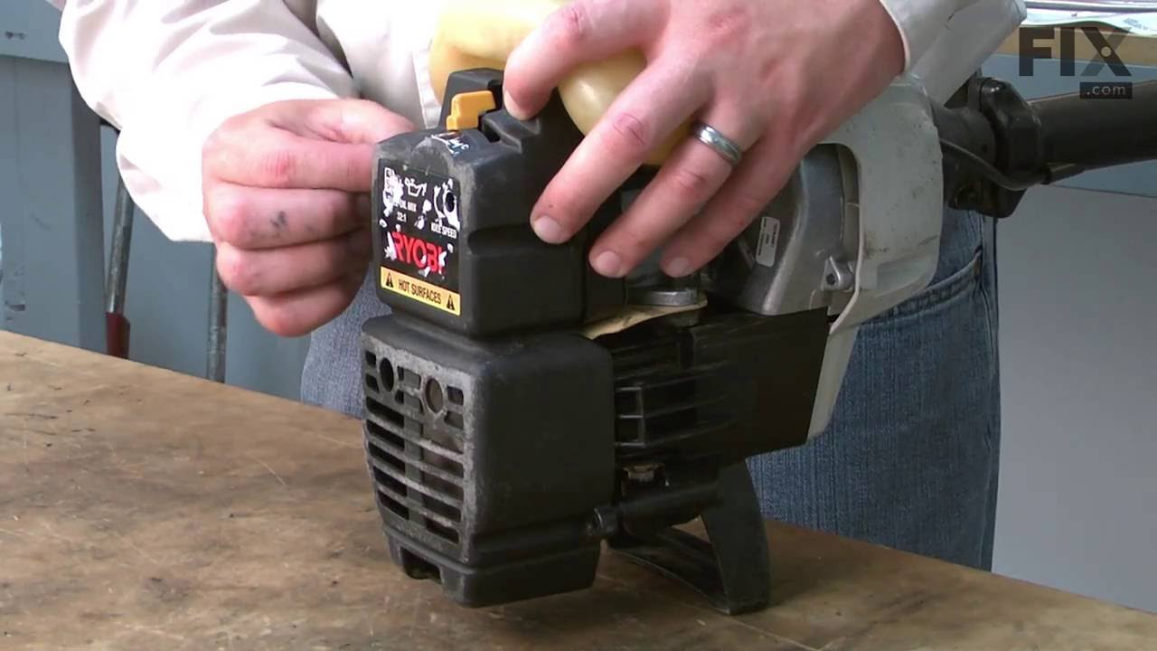Replacing your Ryobi Trimmer Fuel Line and Filter