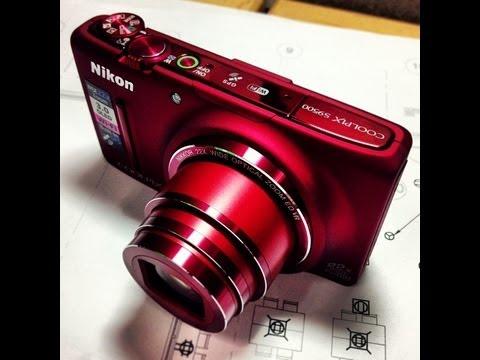 Nikon Coolpix S9500 Unboxing & Wi-fi setup