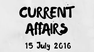 Current Affairs 15 July 2016   World Youth Skills Day 2016 Observed