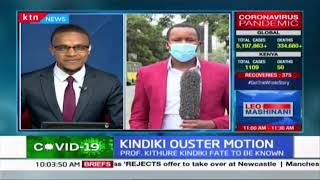 Kindiki ouster motion: Prof. Kithure Kindiki\'s fate to be known as debate of removal set for today