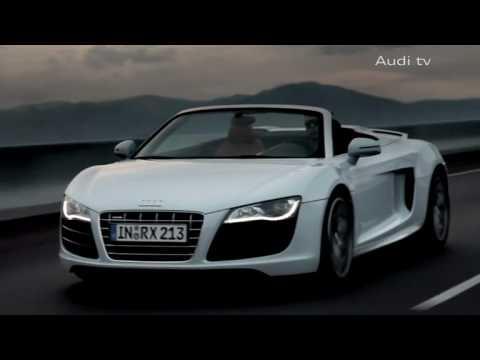 Audi R8 V10 Spyder Promo