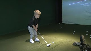 3-year-old Newmarket boy has best golf swing in world for age category