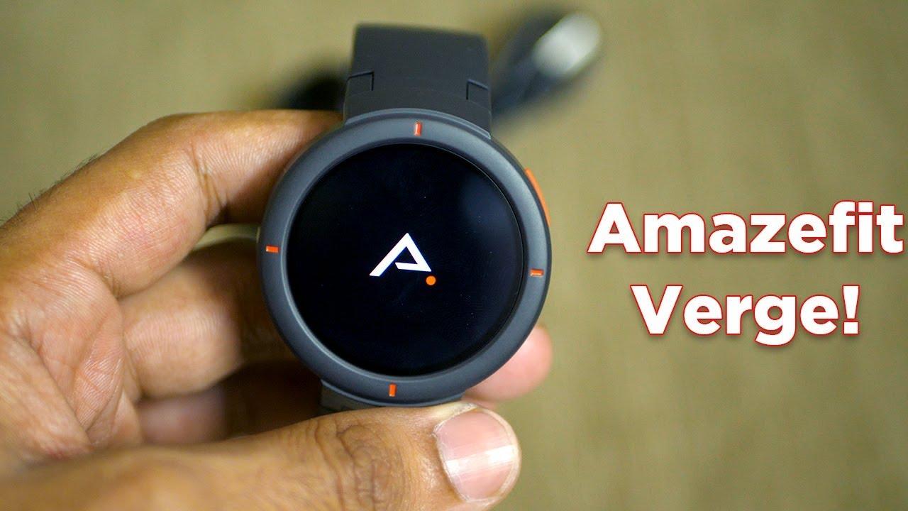 Features of the Amazfit Verge