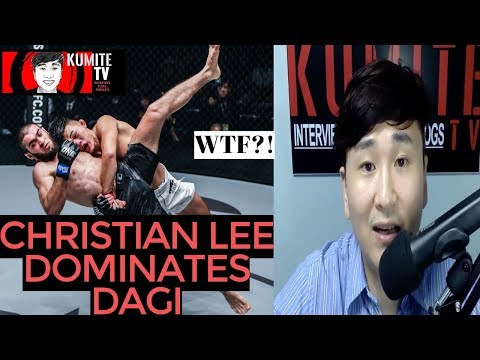 REACTION | Christian Lee dominates Saygid Dagi Arslanaliev | ONE Century