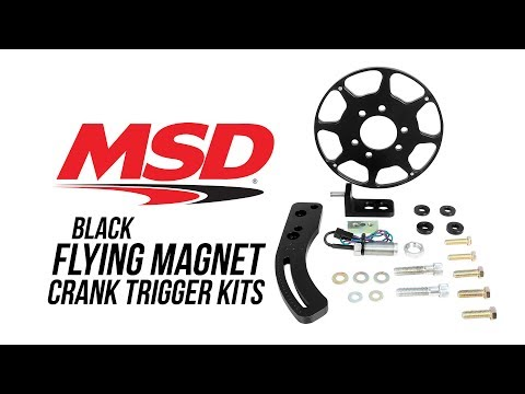 MSD Black Flying Magnet Crank Trigger Kits