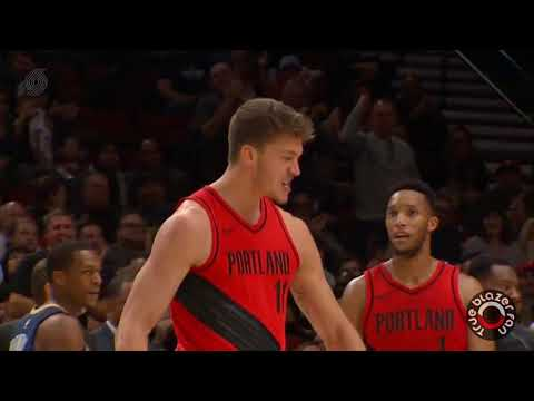 Portland Trail Blazers vs New Orleans Pelicans - Full Game Highlights - December 2, 2017