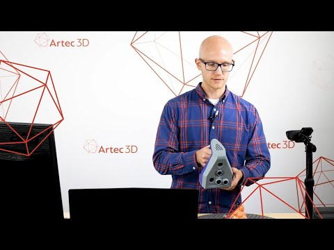 How to Easily Scan an Object with an Artec Space Spider - Artec 3D