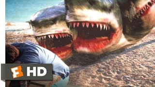 3 Headed Shark Attack 1/10 Movie CLIP  Get Out Of The Water 2015 HD