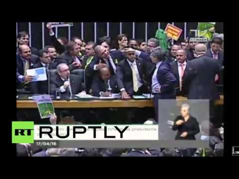 Βραζιλία: Η Βουλή αποπέμπει την Πρόεδρο Ρουσέφ
