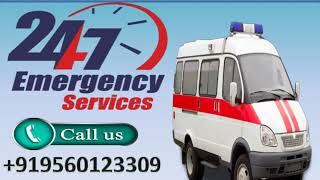 LifeSaver Road Ambulance Service in Ranchi and Patna by Medivic Ambulance