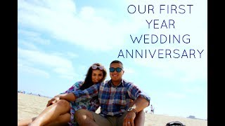 OUR ONE YEAR MARRIAGE ANNIVERSARY!!
