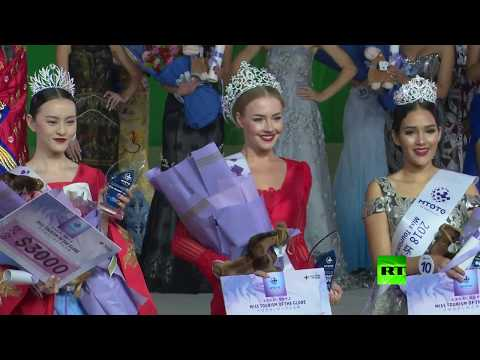 العرب اليوم - شاهد: روسية تفوز بلقب ملكة جمال السياحة العالمية لعام 2018