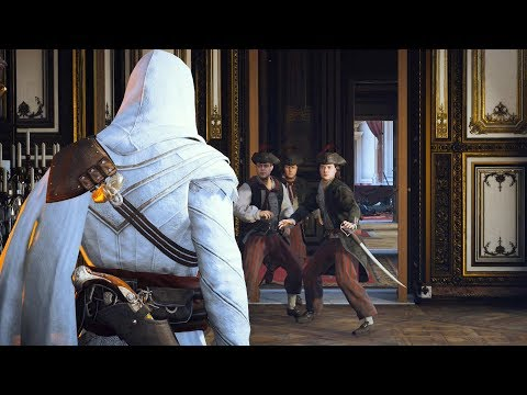 Assassin's Creed Unity Legendary Master Arno Stealth Kills &  Ezio `s Outfit  Ultra Settings